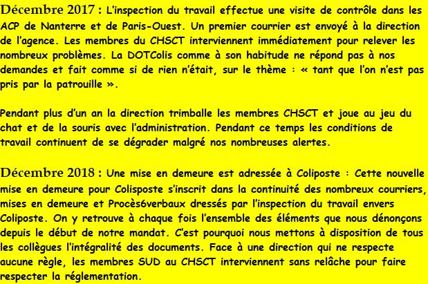 Acp Nanterre Et Paris Ouest L Inspection Du Travail Sonne Toujours